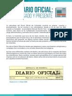 Breve Historia Diario Oficial en Colombia