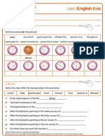how-to-tell-the-time-worksheet