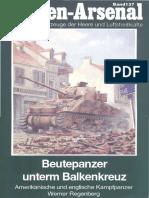 Band 137 - Beutepanzer unterm Balkenkreuz, Amerikanische und englische Kampfpanzer(OCR+)
