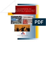 monetary benefits handbook