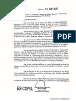 Decreto 317-20 Comite Especial Penitenciario