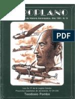 Revista Aeroplano número 09 del año 1991