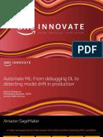 Automate machine learning - Aparna Elangovan