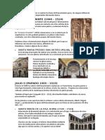 Tema 2 - Arquitectura y Ciudad en la Italia del Cinquecento I