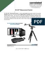 Vic-3D System Specs