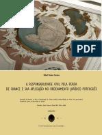A Responsabilidade Civil pela Perda de Chance e sua Aplicacao no Ordenamento Juridico Portugues