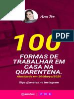 100 formas de trabalhar online na quarentena (1)