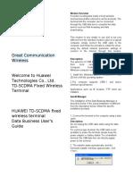 GSM Wireless Desk Phone - User's Manual.docx