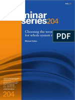 Fullan 2011 Choosing Effective Drivers for Whole System Reform