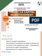capital investissement chorfi
