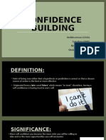 ppt ...Confidence building