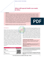 Management of children with special health care needs (SHCN) in the dental office.pdf