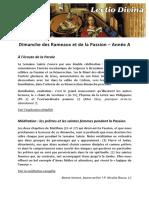 LD A 06 Dimanche du Careme (Rameaux)