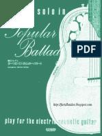 Michiwo Tashima-guitar Solo in Popular Ballad-Vol.1