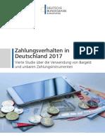 Bundesbank - 2017 - Zahlungsverhalten in Deutschland