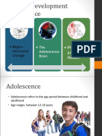 ADOLESECNE PHYSICAL DEVELP