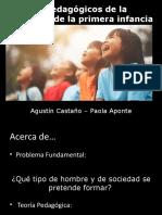 Modelos pedagógicos de la primera infancia