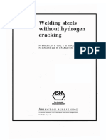 Welding Steels Without Hydrogen Cracking