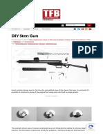 DIY Sten Gun -The Firearm Blog