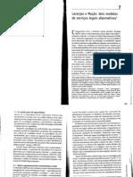 Laranjas e maças - dois modelos de serviços legais alternativos