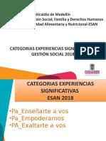 Categorias PAE 2018 - V3