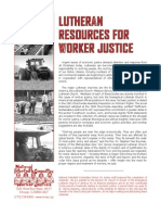 Lutheran Resources for Worker Justice
