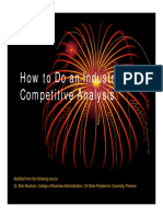 109EC__Industry and Competition Analysis