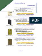 Catalogo BIBLIAS Al 20Dic2010