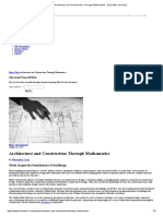Architecture and Construction Through Mathematics - DreamBox Learning