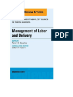 Management of Labor and Delivery, An Issue of Obstetrics and Gynecology Clinics ( PDFDrive.com )