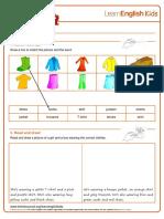Ejercios en inglés de CLOTHES.pdf