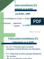 Taller Fideicomiso - IGMP, IsBP y Reg. Info