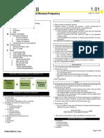 2.01 Measures of Disease Frequency