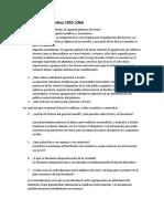 Cuestionario Argentina 1955 parte 1