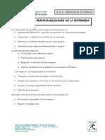 RESPONSABILIDADES Y FUNCIONES DE LA ENFERMERA