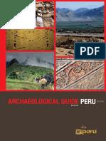 Archaelogical Guide Perú - Guía arqueológica Perú ( inglés)