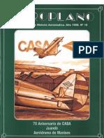 Revista Aeroplano número 16 del año 1998