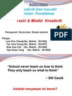 kump 2 - Teori & Model Kreativiti