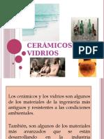 Ceramicos y vidrios