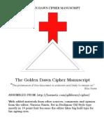 The Golden Dawn Cipher Manuscript