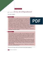 LOPEZ, TONI  Es justa la Ley de la Dependencia_RTS N_185 2008