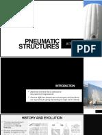 Pneumatic structure