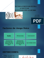 Efectos auditivos extra auditivos