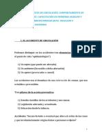 TEMA 2 . EL ACCIDENTE DE CIRCULACIÓN. COMPORTAMIENTO EN CASO DE ACCIDENTE