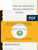 RFID BASED AUTOMATED PETROL PUMP ppt