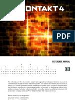 Kontakt 4 Reference Manual English