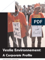 Veolia Environnement - Public Citizen