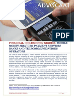 Mobile Money and PSB