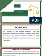 Ecuaciones y Proporcionalidad - Actualizado