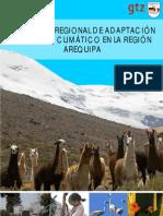 Propuesta Estrategia Regional Cambio Climático. Arequipa